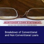 Breakdown of Conventional and Non-Conventional Loans