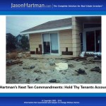Jason Hartman's NEXT Ten Commandments: Hold Thy Tenants Accountable