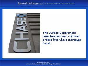 JP Morgan Chase Faces Criminal and Civil Investigations | Jason