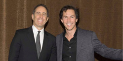 Jason Hartman with Jerry Seinfeld