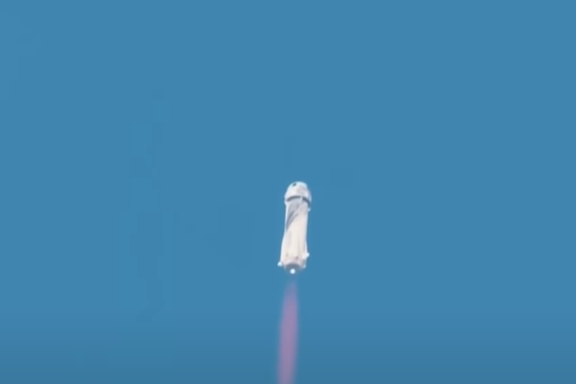What Billionaires Going to Space Tells Us About Inflation