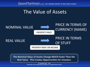 Value of Assets
